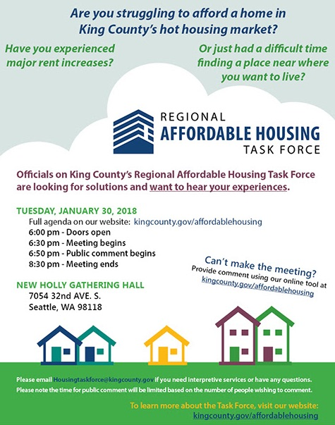 Event on Housing Affordability