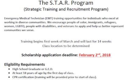 Full Scholarship for EMT