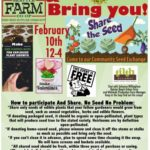 Seattle Farm Co – Op Seed Swap & Crafts!