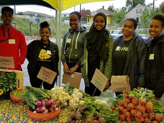 Hello Rainier Beach: A FARM STAND SPROUTS IN RAINIER BEACH