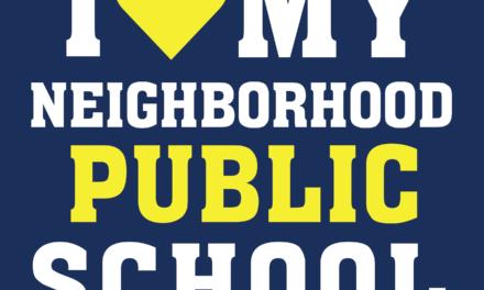 I love my Neighborhood Public School!