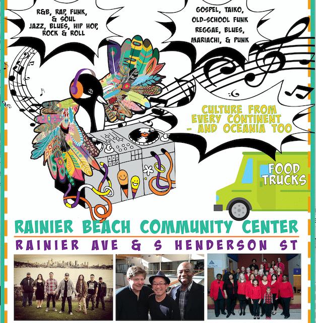Rainier Beach Arts And Music Festival: BAAM Fest!