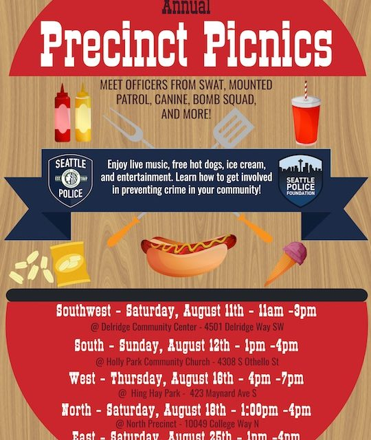 Seattle Police Department Annual Precinct Picnic
