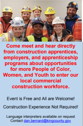 September 27th Diversity in Construction Event
