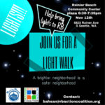 Rainier Beach Light Walk