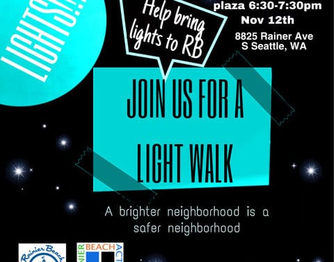 Rainier Beach Light Walk