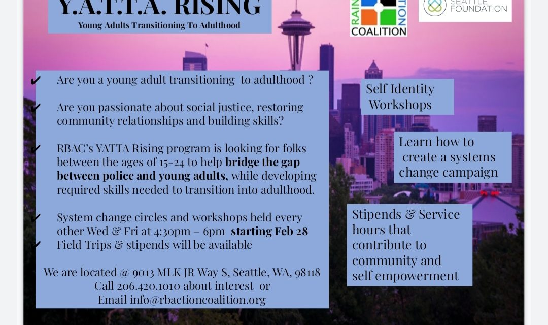 YATTA Rising: Building Young Adult Resilience and Conducting Systems Change