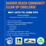 Clean Crew: Join the Rainier Beach Cleanup Challenge!
