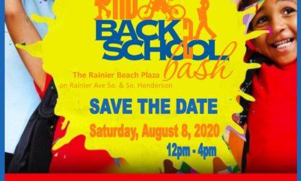2020 Rainier Beach Back2School Bash