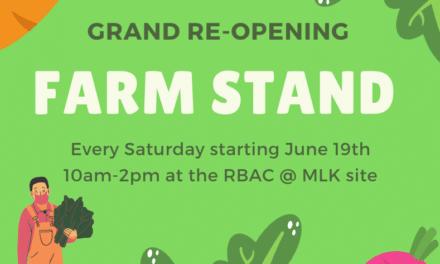 Rainier Beach Farm Stand Grand Re-Opening