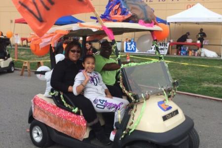 Rainier Beach High School Homecoming Parade 2014